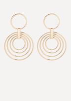 Bebe Multi-Ring Drop Earrings