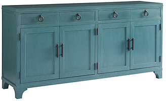 Barclay Butera Bayside Sideboard - Sea Glass Blue