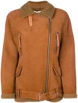 Golden Goose Deluxe Brand aviator jacket - women - Sheep Skin/Shearling - XS