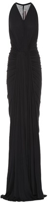 Rick Owens Lilies jersey maxi dress
