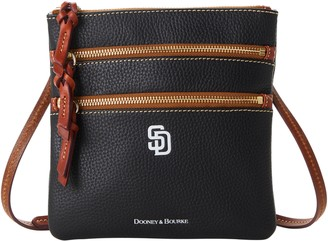 Dooney & Bourke MLB Padres N S Triple Zip Crossbody