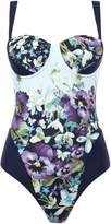 Ted Baker Entangled enchantment cupped swimsuit