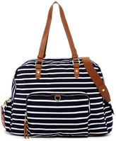 Madden-Girl Glory Stripe Large Jersey Weekend Bag