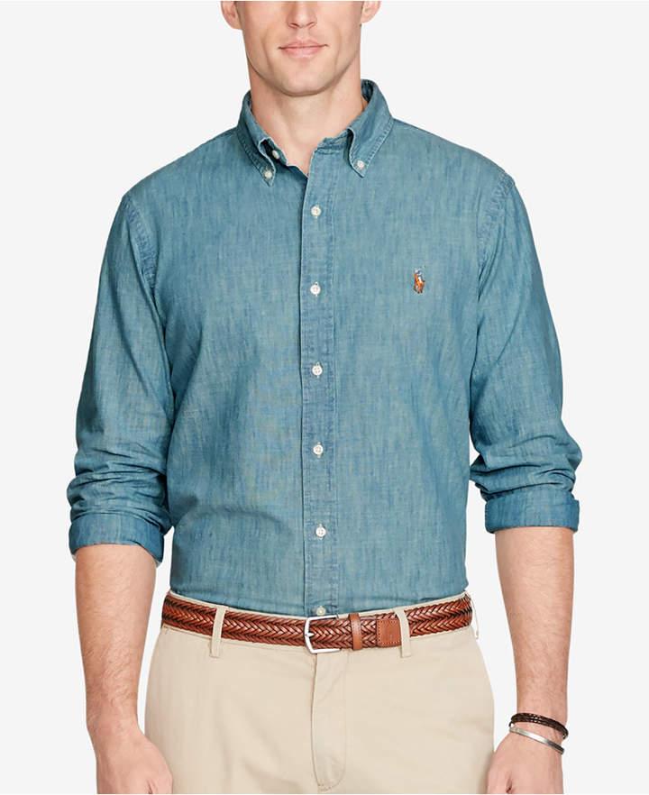 5d990a2b3 Chambray Shirt Ralph Lauren - ShopStyle