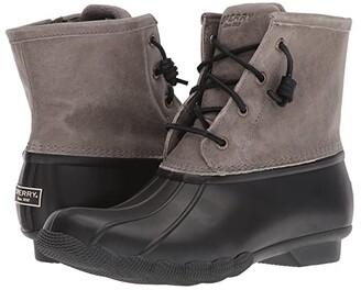 Sperry Saltwater Core (Black/Grey) Women's Boots