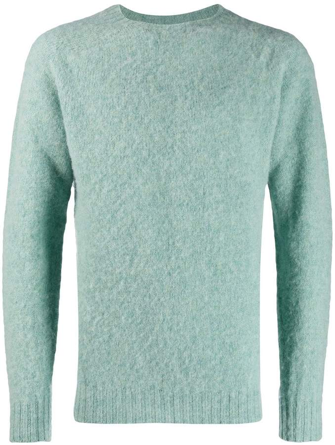 Officine Generale loose Shetland sweater