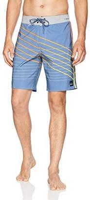 "Quiksilver Men's Highline Shibori Slash 19"" Swimtrunk Boardshorts"