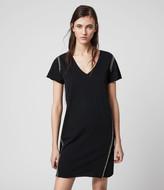 AllSaints Emelyn Chain Tee Dress