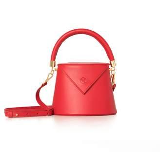 Nina Hauzer The Bianca Bucket Red Bag