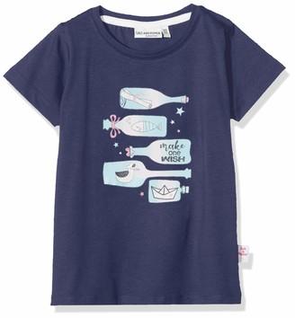 Salt&Pepper Salt and Pepper Girls' gedruckte Flaschenpost mit Glitzer und Schaumdruck T-Shirt