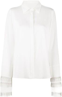 Galvan Fringed Cuff Shirt