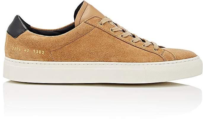 Common Projects Men's Achilles Retro Suede Sneakers