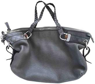 Gucci Grey Leather Handbags