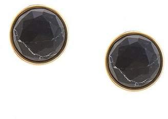 Wild Lilies Jewelry Black Stud Earrings