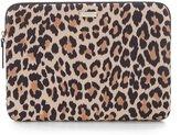 Kate Spade Leopard-Print Laptop Sleeve