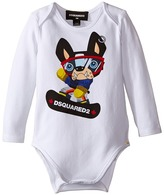 DSQUARED2 Long Sleeve Body w/ Skateboard Dog Boy's Jumpsuit & Rompers One Piece