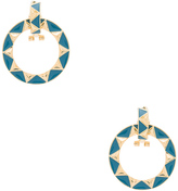 House Of Harlow Nile Delta Convertible Earrings