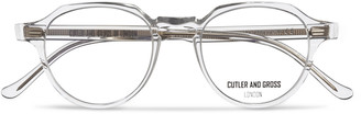 Cutler & Gross Round-Frame Acetate Optical Glasses