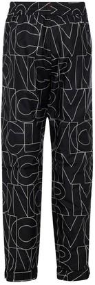 MONCLER GRENOBLE Logo Print Pants