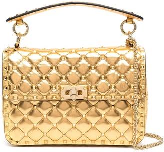 Valentino metallic Rockstud Spike crossbody bag