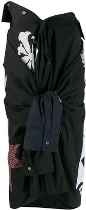 Ambush Sleeve Tie Skirt