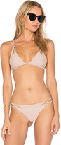 Acacia Swimwear Thailand Top in Beige. - size L (also in M,S,XS)