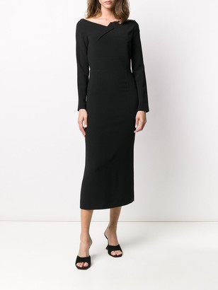 Roland Mouret Romolo fitted dress