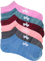 Under Armour Essential Twist No Show Socks - 6 Pack - Women's
