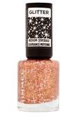 Rimmel Glitter Medium Coverage Nail Polish 8ml