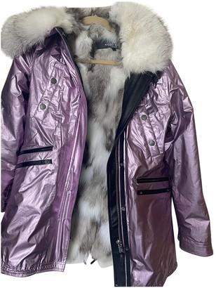 Nicole Benisti Metallic Fox Coat for Women