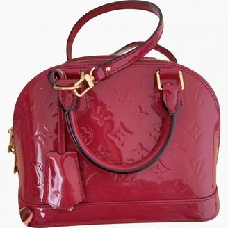 Louis Vuitton Alma BB Pink Patent leather Handbags