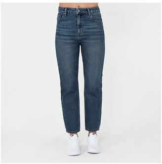 Firetrap Blackseal Denim Mom Jeans