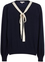 Demy Lee Emile Navy Cashmere Jumper