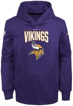 Nfl Boys 8-20 NFL Minnesota Vikings Therma Hoodie Pullover