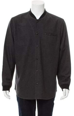 Vince Wool-Blend Shirt Jacket