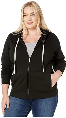 UGG Plus Size Nancy Hoodie (Black) Women's Clothing