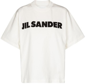 Jil Sander Logo cotton T-shirt
