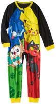 Pokemon Boys' Poly One Piece Pajama