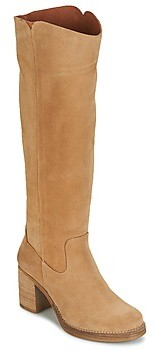 Casual Attitude HAPI women's High Boots in Beige