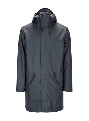 Rains Alpine Jacket With Lining Black - XXS/XS | polyester | black - Black/Black