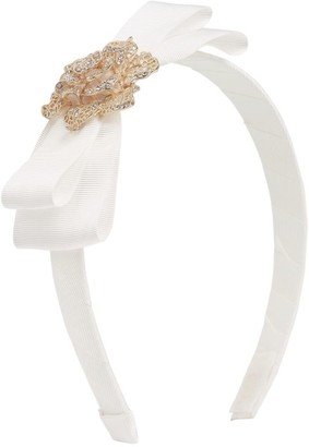 David Charles Filigree Diamante Rose Hairband
