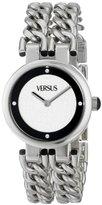 Versus By Versace Women's SGR010013 Berlin Stainless Steel and Swarovski Crystal Watch with Link Bracelet