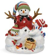 Fitz & Floyd Hand Painted Musical Snowman