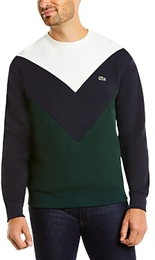 Lacoste Color-block Fleece Sweatshirt