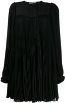 Stella McCartney Pleated Georgette Dress