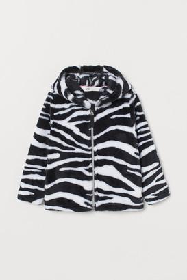 H&M Faux Shearling Jacket - White