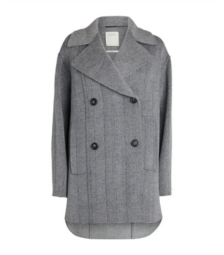 Max Mara Oversized Wool Pea Coat