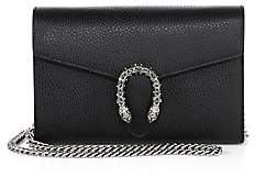 Gucci Women's Dionysus Leather Mini Chain Bag