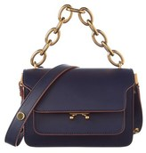 Marni Mini Calf Skin Trunk Shoulder Bag.