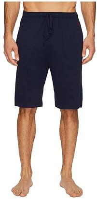 Polo Ralph Lauren Supreme Comfort Knit Sleep Shorts (Cruise Navy) Men's Pajama